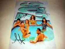 "90210 CAST X3 PP SIGNED 12""X8"" POSTER SHENAE GRIMES Beverly Hills"