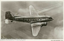 Postcard 990 - Aircraft/Aviation Real Photo KLM Douglas DC-3