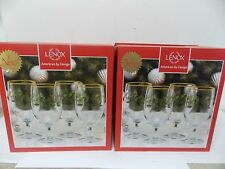 Lenox Holiday 12 oz  Iced Beverage Goblets, Set of 8