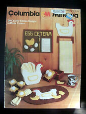Country Kitchen Designs Columbia Minerva #670 Plastic Canvas Pattern Book VTG