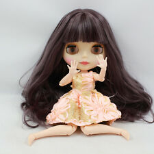 "Takara 12"" Neo Blythe Matte Face joint body Nude Doll from Factory TBY117"