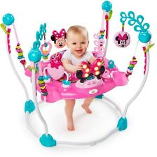 Disney Minnie Mouse Pink Jumperoo Activity Jumper Baby Girls Pink