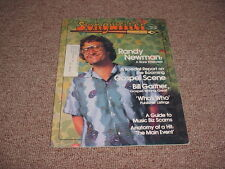 SONGWRITER Magazine Guitar Piano RANDY NEWMAN November 1979
