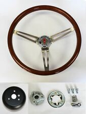 69-93 Oldsmobile Cutlass 442 Wood Steering Wheel High Gloss Finish 15""