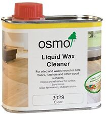 Osmo Liquid Wax Cleaner 3029 0.5 Litre Tin