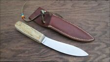 Customized Vintage Russell Green River Carbon Steel/Stag Hunting Skinning Knife