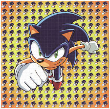 SONIC THE HEDGEHOG    - LSD  BLOTTER ART VIDEO  GAME CLASSIC