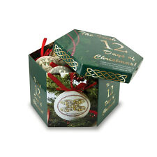 12 Days of Christmas Ornament Set & Keepsake Box Irish Made