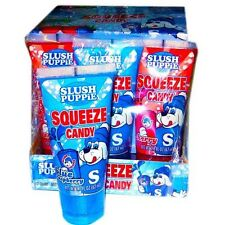 3 x Slush Puppie Squeeze Candy Blue Raspberry 62ml USA Import Free UK Delivery