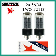 New 2x Sovtek 5AR4 / GZ34 | Pair / Duet / Two Rectifier Tubes
