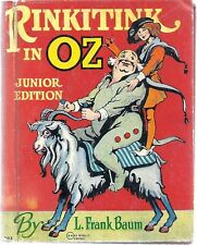RINKITINK IN OZ.L Frank Baum. Junior Edition, 1939
