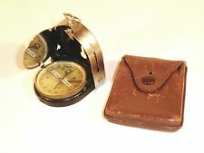 Bezard-Kompass – 1930s German Compass in Original Leather Case