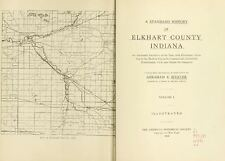 1916 ELKHART County Indiana IN, History and Genealogy Ancestry Family DVD B36