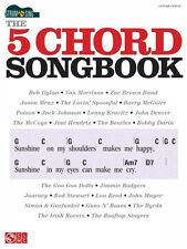 Strum & Sing: The 5 Chord Songbook Sheet Music Easy Guitar Book NEW 002501718