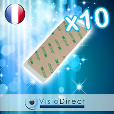 Lot de 10 stickers autocollant Adhesif scotch pour vitre écran iPod touch 4
