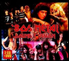 '80s Metal Sound & Vision by Various Artists (CD, Aug-2011, 3 Discs) NEW SEALED