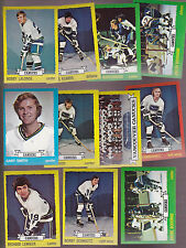 1973 Topps Team SET Lot of 11 Vancouver CANUCKS NM+ LEVER Orland SCHMAUTZ