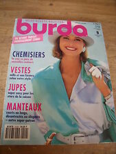 MAGAZINE BURDA CHARME AUTOMNAL FOLKLORE STYLE COUTURE  N°9 1991