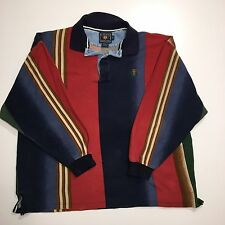 Ralph Lauren Men's XL Polo Shirt Rugby Chaps Vintage