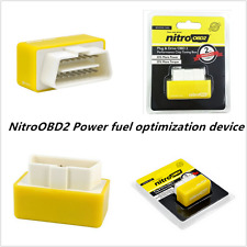 OBD2 Autos Off-Road Performance Tuning Chip Box Fuel Saver For Gas/Petrol Yellow