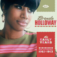 "BRENDA HOLLOWAY  ""THE EARLY YEARS RARE RECORDINGS 1962-1963""   MOTOWN"