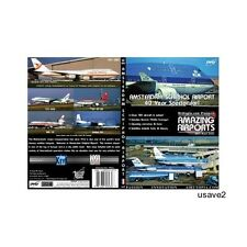Amsterdam Netherlands Holland Airport  Aircraft Airline DVD Video-New