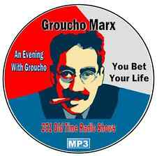 Groucho Marx - 251 Old time Radio Shows Mp3 DVD-CD