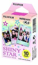 Fujifilm Fuji Instax Mini Instant Film Single Pack (10 Shots): Shiny Star