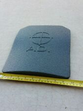 """Pair of Bullet Proof Plate Body Armor Level III-A (3A) 12""""x10"""" (Two Plates)"""