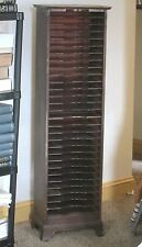 1910 Encyclopedia Britannica Oak Bookcase - Vertical storage
