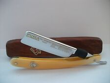 solingen vintage straight razor PUMA SHAVE READY