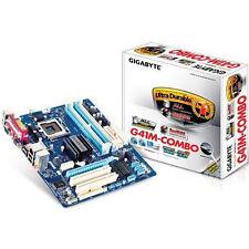 NEW Gigabyte GA-G41M-Combo Motherboard LGA775 Intel G41 DDR3 DDR2 REV 2.0