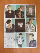 TEEN TOP - Red Point (Urban Ver.) [OFFICIAL] POSTER K-POP *NEW*