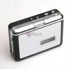 Micro SD(TF) Card Cassette Tape to MP3 Converter Capture Audio Music Player USA