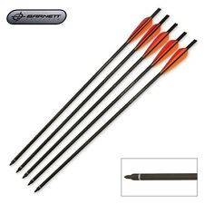 "New Barnett Outdoors Carbon Crossbow 20"" Arrows w/Field Points (5 Pack) 16075"