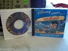 DISNEY LILO & STITCH HAWAIIAN ADVENTURE PC VIDEO GAME WINDOWS MAC +BONUS PC GAME