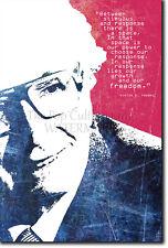 Viktor E. Frankl motivacional arte Foto impresión de cartel de regalo de estímulo y respuesta