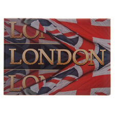 LONDON METAL FRIDGE MAGNET Union Jack Flag, Ted Smith Design
