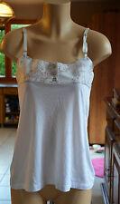 COP COPINE - Joli haut blanc modèle charon - Taille 1 - EXCELLENT  ÉTAT