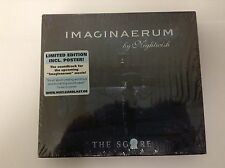 Nightwish Imaginaerum The Score 2012 Limited POSTER  Edition BRAND NEW SEALED CD