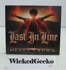 Heavy Crown [Deluxe Edition] by Last In Line (CD/DVD, 2016, 2 Discs) - DIO Band