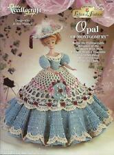 Opal of Montgomery Ladies of Fashion Crochet Gown Pattern for Barbie Dolls NEW