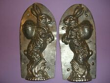 Antique Chocolate Mold Candy Mold Bunny Rabbit Easter Mold Egg WALTER