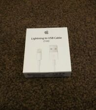 * ORIGINALE APPLE USB a Lightning e Cavo di sincronizzazione IPHONE 5S 6 5C *