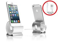 Sinjimoru Aluminum Desk Charger Stand Station Sync Dock Cradle iPhone 7 7+ 6S
