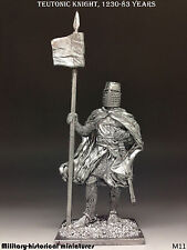 Tin soldiers 54 mm Teutonic knight, 1230-83