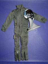 1/6 Scale Modern US NAVY Fighter Pilot Suit and Helmet LOT Top Gun  Loose