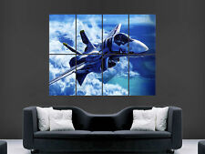 F18 FIGHTER JET AEROPLANE MILITARY   WALL POSTER ART PICTURE PRINT LARGE  HUGE