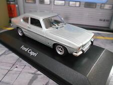FORD Capri 1 MKI Coupe light blue blau GT 1969 NEU Maxichamps Minichamps 1:43