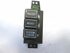E9OF-10D996-BB 89-90 LINCOLN CONTINENTAL DASH RESET SWITCH NEW ORIGINAL
